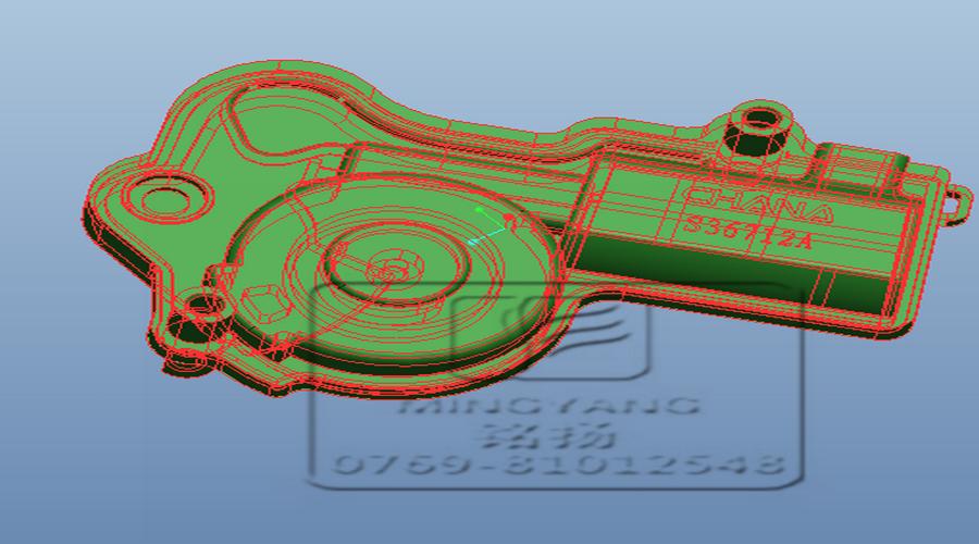 汽车闭锁器焊接 汽车闭锁器PA66超声焊接