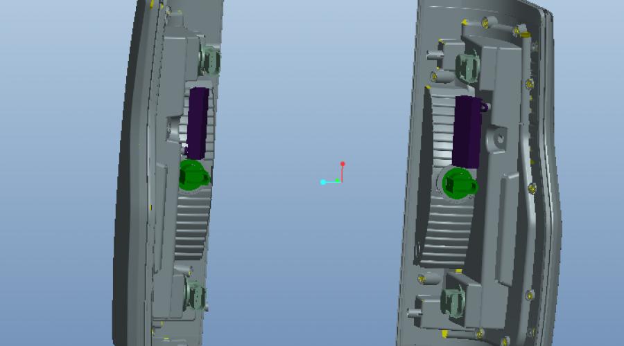 长安汽车尾灯六级密水无缝焊接